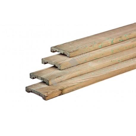 Grenen planken geimpregneerd